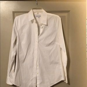 White Gap Button Down